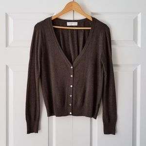 Anthropologie Laurie B. Brown Cardigan Sweater | M